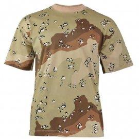 t-shirt Mil-Tec Tarn us desert