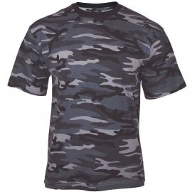 t-shirt Mil-Tec Tarn dark camo