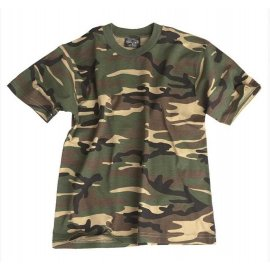 koszulka Mil-Tec KIDS dziecięca us woodland