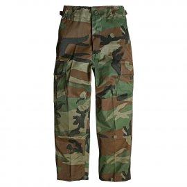 spodnie dziecięce Mil-Tec US BDU HOSE us woodland