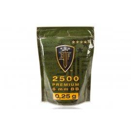 Kulki ASG Elite Force Premium 0,25g 2500 szt.