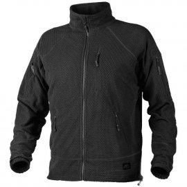 bluza Helikon Alpha TACTICAL Grid Fleece Jacket - czarny
