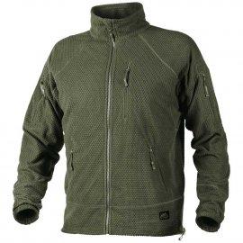 bluza Helikon Alpha TACTICAL Grid Fleece Jacket - olive green
