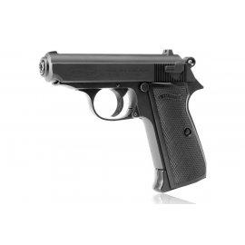 wiatrówka - pistolet Walther PPK/S blow back