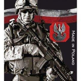 Znaczek Metalowy Haasta Orzeł Militarny
