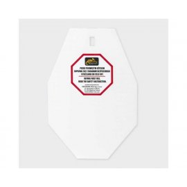 płyta Helikon SRT Small ALPHA Target - Hardox 600 Steel - Biały