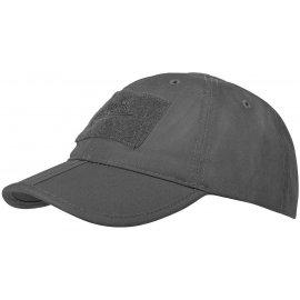 czapka Helikon Baseball FOLDING Cotton ripstop shadow grey