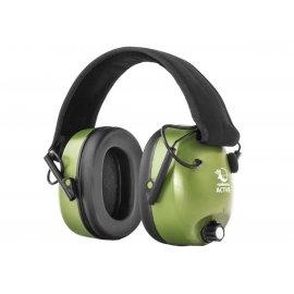 Ochronniki słuchu REALHUNTER Active Oliwkowe
