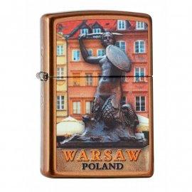 Zapalniczka ZIPPO Warsaw Mermaid, Toffee