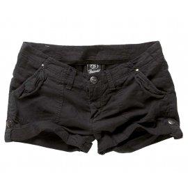Spodnie Damskie BRANDIT Claire Hotpants Black