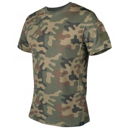 T-shirt taktyczny Helikon Tactical pl woodland