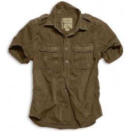 Koszula SURPLUS RAW VINTAGE SHIRT -  Brown