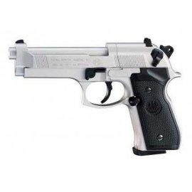 wiatrówka - pistolet BERETTA M92FS NICKEL