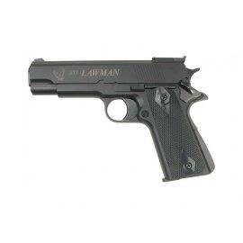 Pistolet 6mm ASG STI Lawman Green Gas Czarny