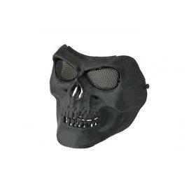 Maska na twarz Skull Style - czarna